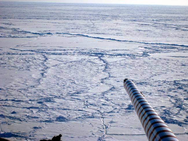 observación de emisiones de metano en el Ártico
