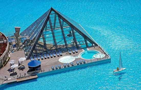 piscina San Alfonso del Mar, Chile