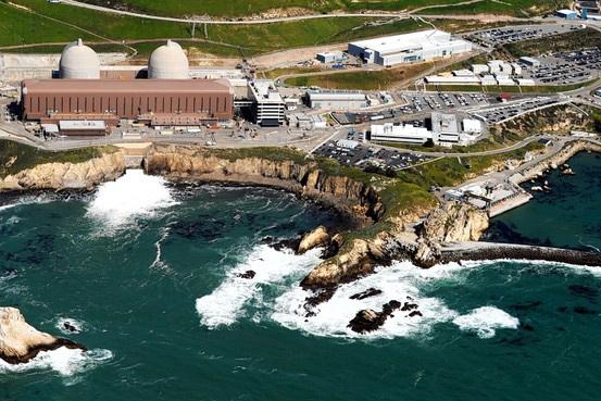 planta nuclear de Diablo Canyon, California