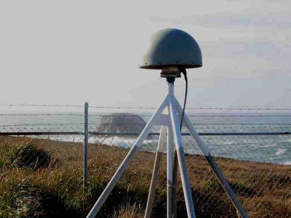 receptor GPS sísmico