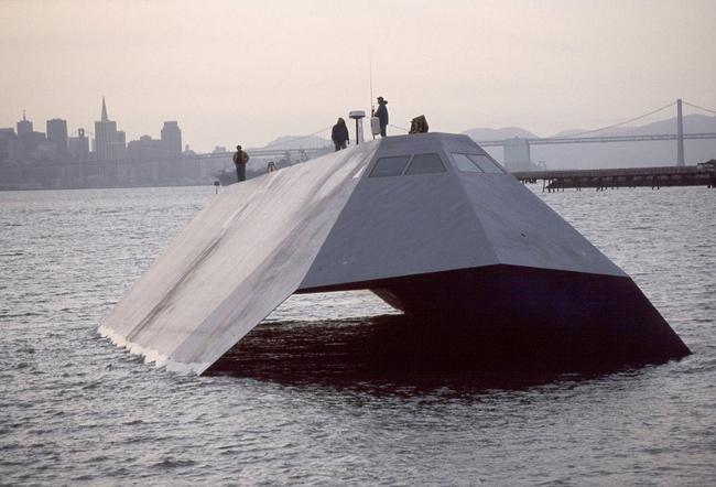 Sea Shadow, el barco invisible al radar