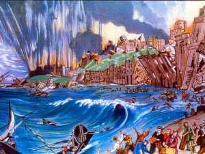 terremoto y tsunami en Lisboa 1755