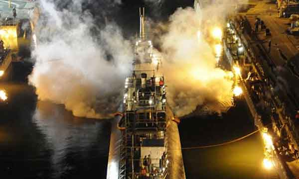 Incendio del submarino nuclear USS Miami