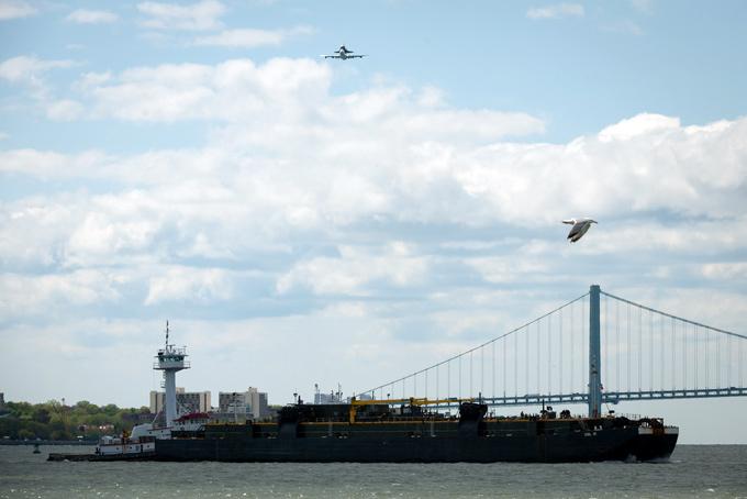 vuelo transbordador espacial Enterprise sobre Nueva York