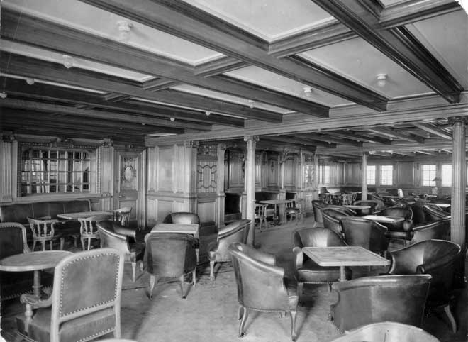 zona de segunda clase del Titanic
