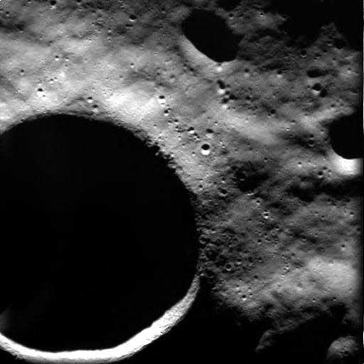 cráter Shackleton en la Luna