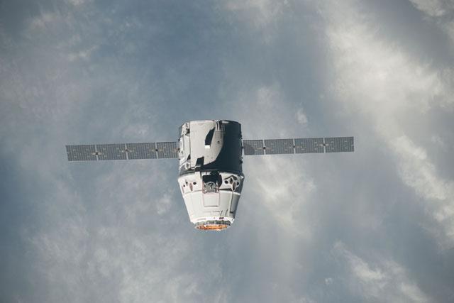 cápsula Dragon de SpaceX