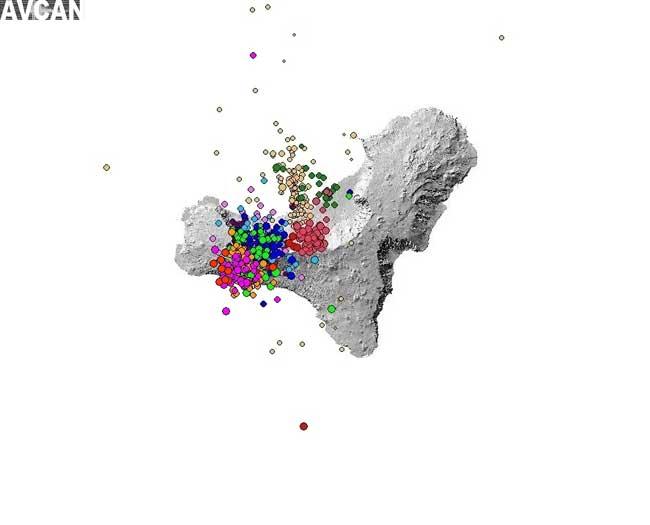 enjambre sísmico en El Hierro, junio 2012