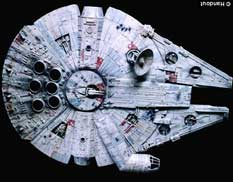 Halcón Milenario de la Guerra de las Galaxias