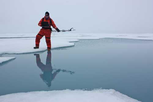 misión de Icescape sobre el fitoplancton en el Ártico