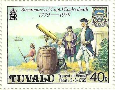observación de James Cook del tránsito de Venus