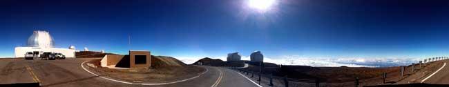observatorio Mauna Kea para el tránsito de Venus 2012