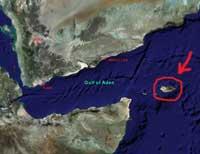 Socotra, situación