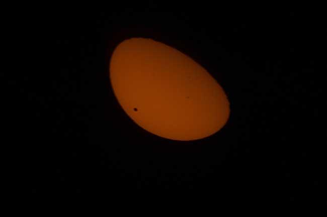 tránsito de Venus desde la Estación Espacial Internacional - Junio 2012