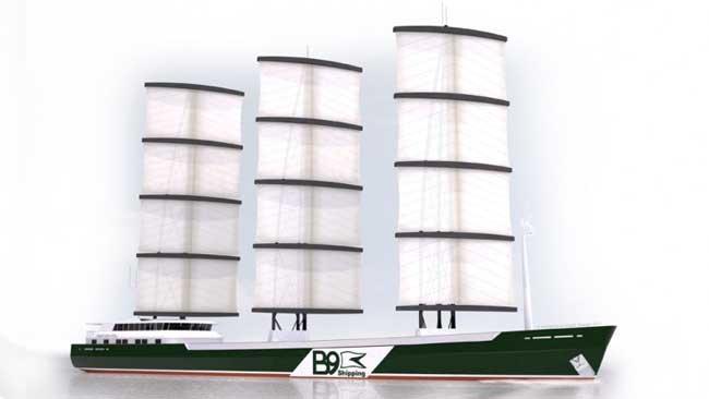 velero de carga B9 Shipping