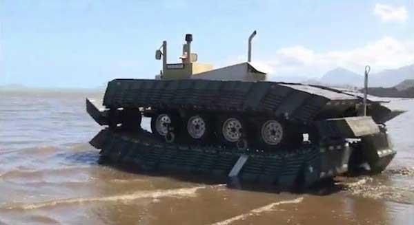 CAAT (Captive Air Amphibious Transporter)