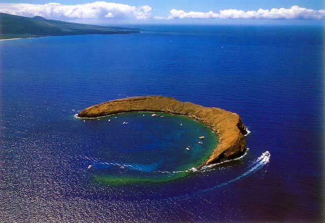 cráter Molokini, Hawái