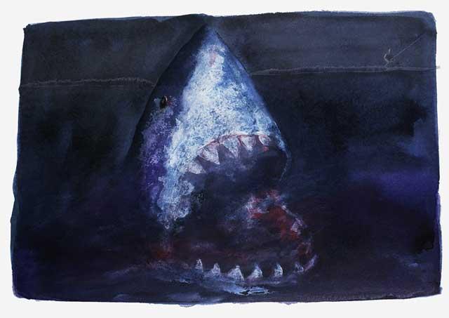 la cultura y el tiburón