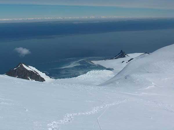 estrecho de Bransfield, Antártida