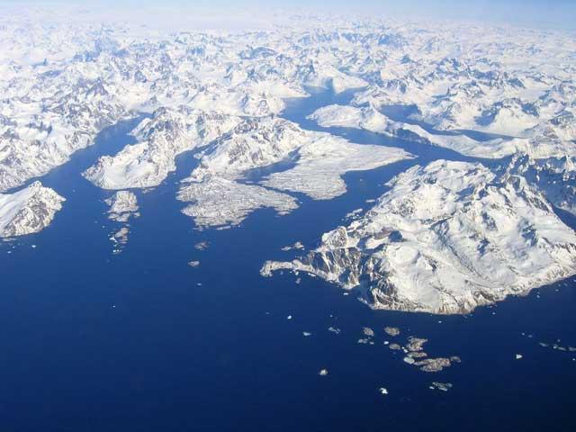 Groenlandia, capa de hielo