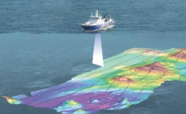 mapeo de volcanes submarinos