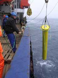 mediciones oceanográficas EIFEX