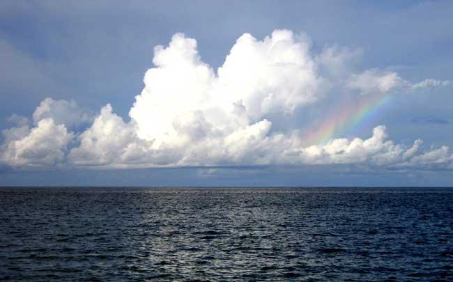 nubes marinas