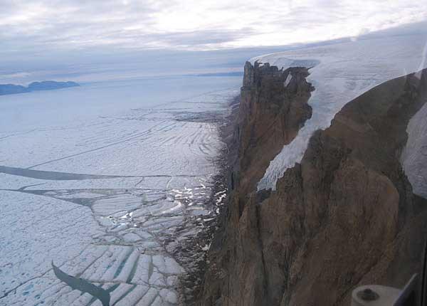 Glaciar Petermann, Groenlandia