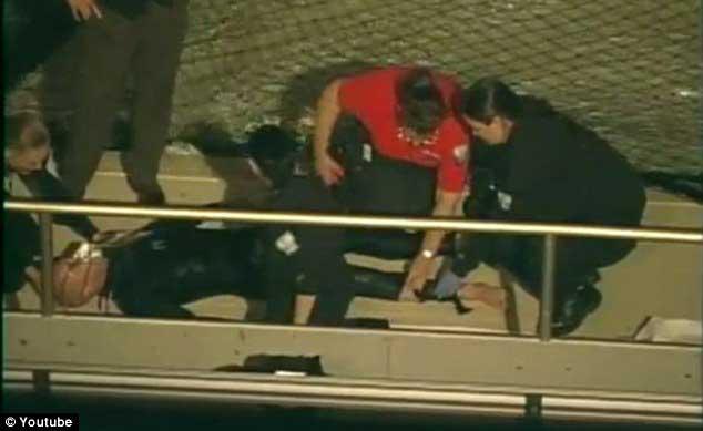 Peters tras el ataque de la orca en SeaWorld