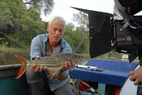 pez tigre en Monstruos del Río de Jeremy Wade en 3D