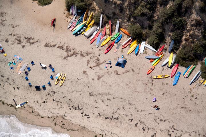 playa de Malibu, California