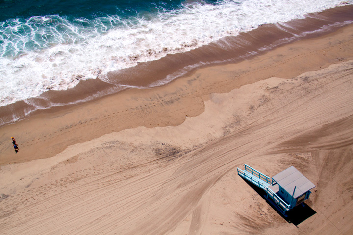 playa Manhattan, California
