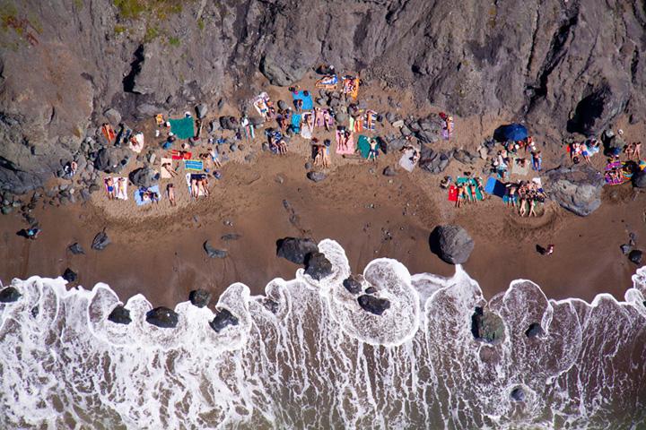 playa nudista, San Francisco