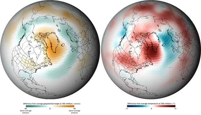 temperaturas de Groenlandia julio 2012