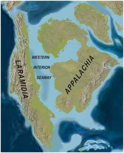 antiguo mar interior de América del Norte