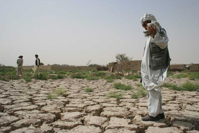 cambio climático y sequía