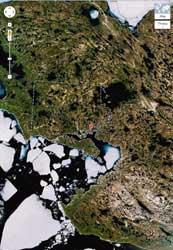 Cambridge Bay en Google maps