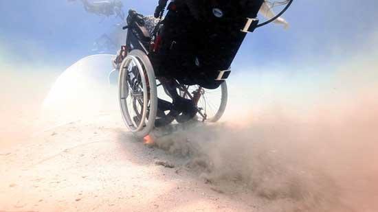 silla de ruedas freewheeling