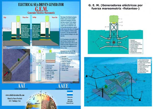 Generador Eléctrico Mareomotriz (G.E.M.)