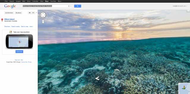 Google maps Seaview