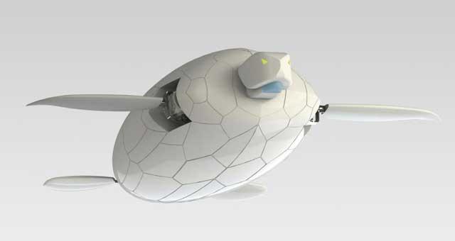 robot Naro-Tartaruga