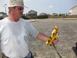 sensor de oleajes de marea, primer plano