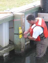 sensor de oleajes de marea