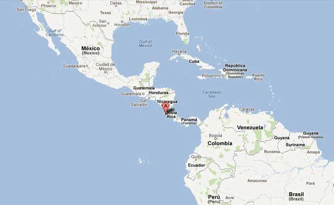 terremoto 7.6 Costa Rica, 5 septiembre de 2012