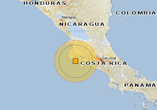 terremoto 7.6 Costa Rica