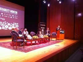 conferencia vulnerabilidad climatica, DARA New York