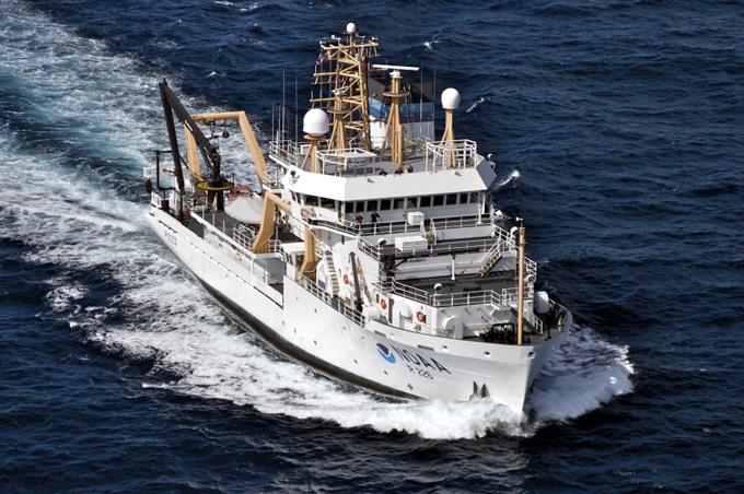buque Pisces de la NOAA