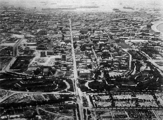 camino Canopic Alejandría en el siglo XIX