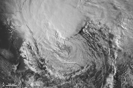 huracán sandy en time-lapse