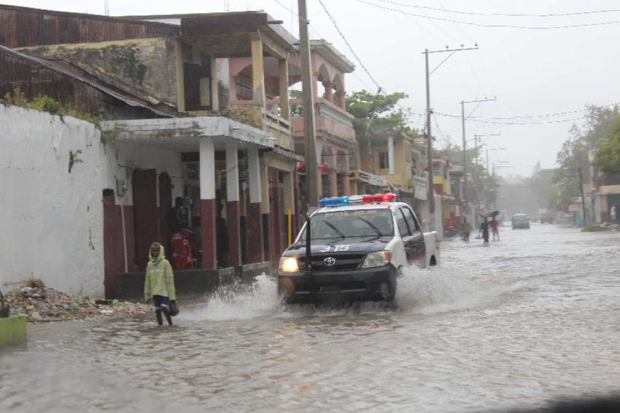 inundaciones del huracán Sandy en Tahití